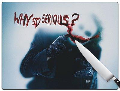 Movie Poster 73 - The Dark Knight Batman Standard Cutting Board by Kitchen accents