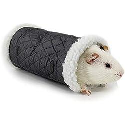 FidgetGear Small Pet Animal Tunnel Toy Stock Show Winter Warm Berber Fleece Tube Hideout Show