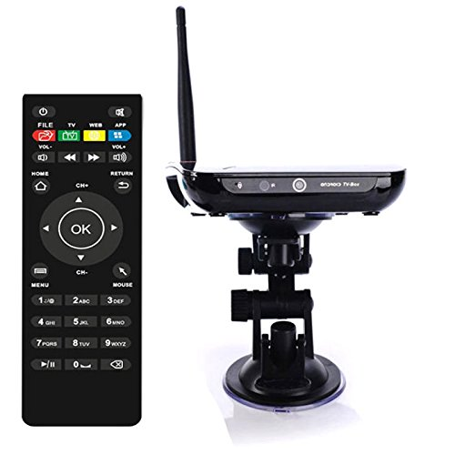 Brand NEW Android 4.4 Quad Core Bluetooth TV BOX WiFi 8G Mic Camera Youtube Media Player