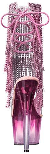 Pink BP ADO1017RSFT M Pink Pleaser C Women's Boot Clear qU0HHzx7