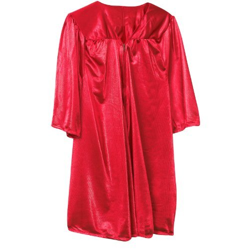 Fun Express Red Graduation Child Robe Party Supply, (Red Graduation)