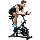 ANCHEER Indoor Cycling Bike, Smooth Quiet Belt Drive Indoor Exercise Bike (Model: ANCHEER-M6008)