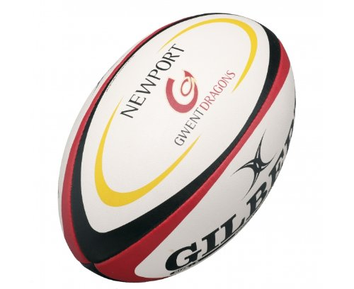 GILBERT Newport Gwent Dragons Replica Mini Rugby Ball , Mini