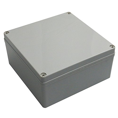 Ogrmar Waterproof Plastic Junction Box DIY Terminal Connection Box Enclosure (200x200x95)