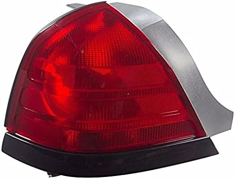 For 2000-2009 Ford Crown Victoria W//O SPORT Tail Lights Driver Passenger Side