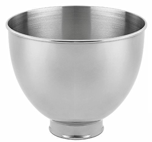 KitchenAid RK45SB Replacement 4.5 Quart Mixing Bowl For K45,K45SS,KSM90,KSM75 (CERTIFIED REFURBISHED)