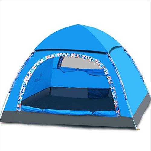 YuFLangel Zelte 3-4 Personen im Freien Camping Camping Zelte Vollautomatisch Öffnen Sie Mehr  Herrenchen, Regen und Sonnencreme Feld Zelte zu verhindern Beach Tent