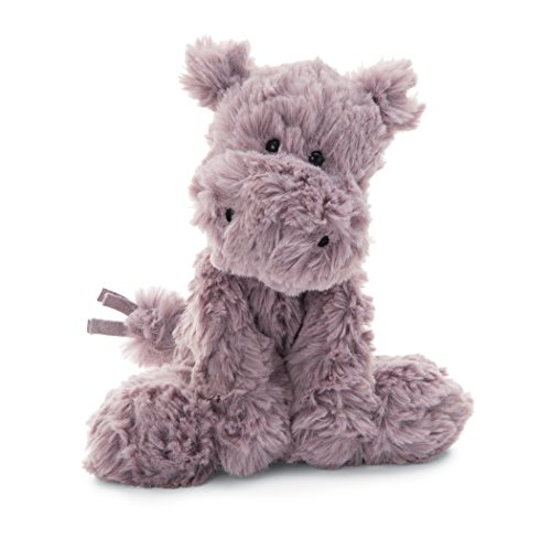 (Jellycat Squiggle Hippo Stuffed Animal, Small, 9 inches)