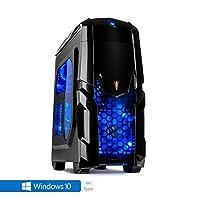 Sedatech PC Gamer Casual AMD Ryzen 3 2200G 4X 3.5Ghz, Radeon Vega 8, 8 Go RAM DDR4, 120 Go SSD, 1 to HDD, USB 3.0, WiFi, CardReader, Full HD 1080p. Unité Centrale & Windows 10