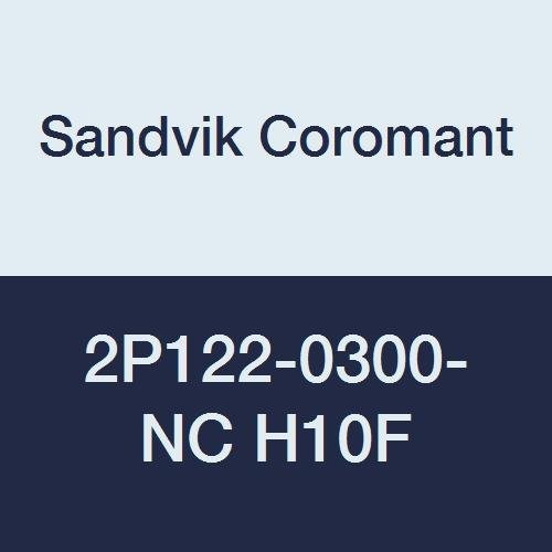 1.9685 Overall Length 0.1181 Cutting Diameter Sandvik Coromant 2P122-0300-NC H10F CoroMill Plura Solid Carbide Square Shoulder End Mill 3 mm Shank 0.1772 Depth of Cut Maximum