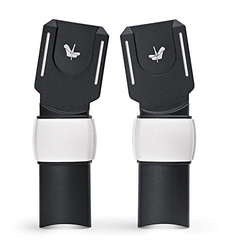 BUGABOO BUFFALO Adapter f/ür Maxi-Cosi Babyschale schwarz//grau