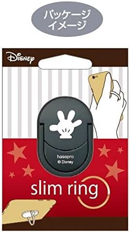 Mickey Mouse//Silver Disney Slim Holder 5mm for Smartphone//iPhone