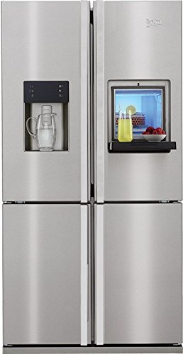 Beko GNE 134631 X freestanding 497L A++ Stainless steel side-by ...
