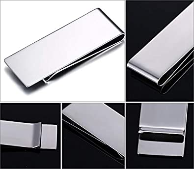 Murinsar Custom Engraving Stainless Steel Money Clip for My Unreasonably Handsome Dad,Husband,Boyfriend Personalized Gift for Men