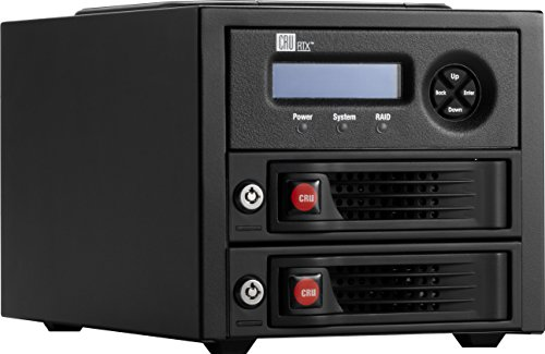 CRU RTX220-3QR Two-drive RAID Storage Enclosure