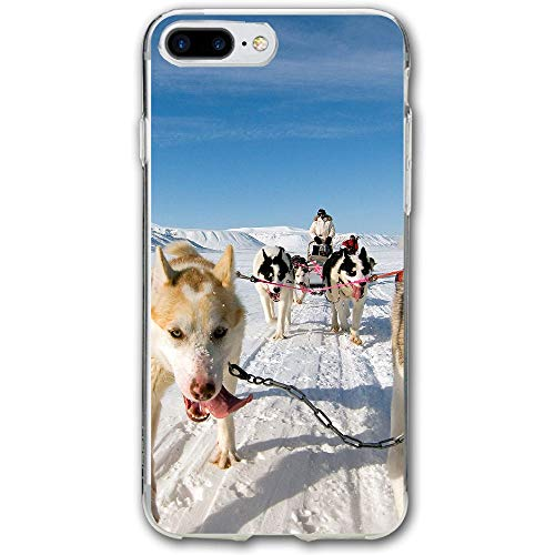 Classroom Sled - Sled Dog Resistant Cover Case Compatible iPhone 7 Plus iPhone 6 Plus 5.5IN