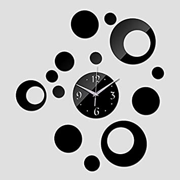 Pymega(TM) New Reloj De Pared Wall Clock Modern Design Horloge Watch Quartz Acrylic