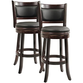 Amazon Com Boraam 8829 Augusta Bar Height Swivel Stool