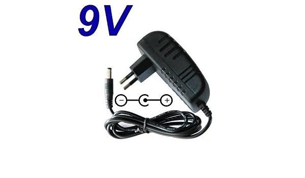 Cargador Corriente 9V Reemplazo Bicicleta Eliptica NordicTrack AudioStrider 500 Recambio Replacement: Amazon.es: Electrónica