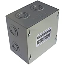 Adamax 664SCE 6x6x4 Electrical Enclosure