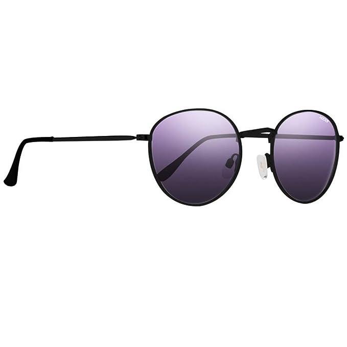 Amazon.com: Gafas de sol redondas de metal con lentes ...