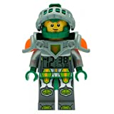 LEGO Kids' 9009426 Ninjago Nexo Knights Aaron Mini-Figure Light Up Alarm Clock