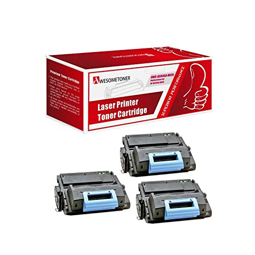 Awesometoner Compatible 3 Pack Q5945A MICR Toner Cartridge for HP Laserjet 4345 4345mfp 4345x MFP M4345 MFP M4345x MFP Yield 18000 - 4345mfp Laserjet Maintenance Kit