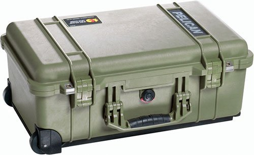 Price comparison product image Pelican 1510 Case With Padded Dividers (OD Green)