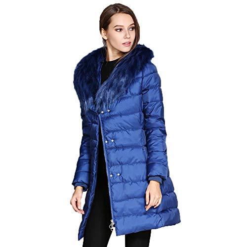 Packable Cappotto Cotone Wy Giubbotto Inverno Donna Invernale Ultraleggeri Blue Giacca Cappuccio Trapuntato Piumino Giacche wqUqz1f