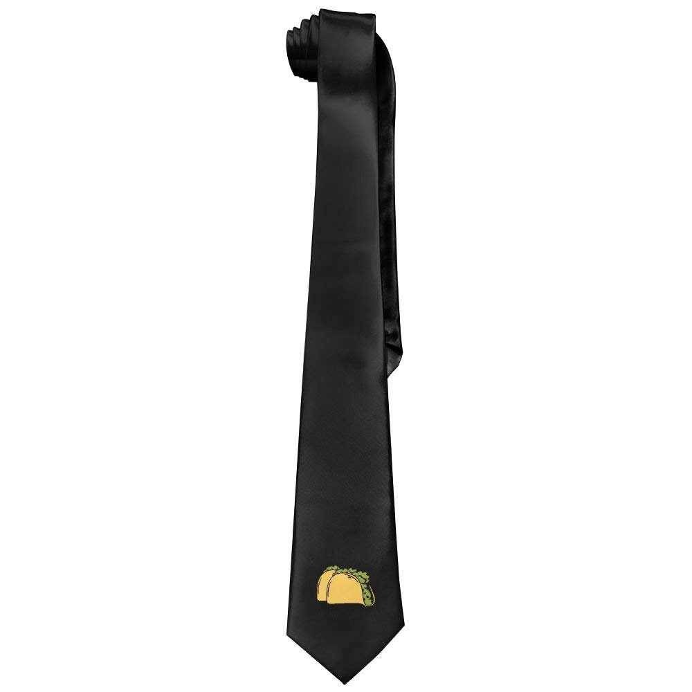 Cool Gold Moon Stars Black Necktie Fashion Silk Tie Perfect Gift For Men Xu Huayan