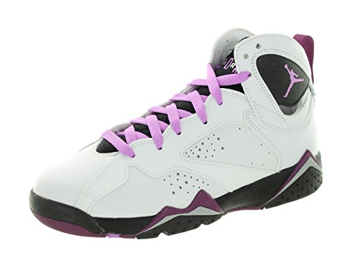Amazon.com NIKE Jordan Kids Air Jordan 7 Retro GG WhiteFuchsia  GlowBlkMlbrry Basketball Shoe 7 Kids US Shoes