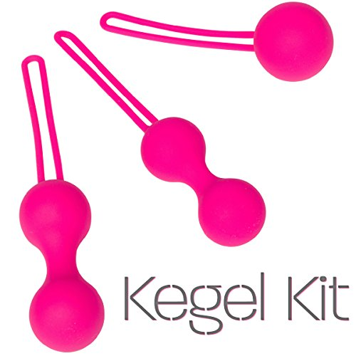 Real Vibes | Kegel Ball Kit Exercisers | Doctor Recommended | Kegel Exercise Kit For Toning and Tightening | Medical Grade | Ben Wa Weight Set