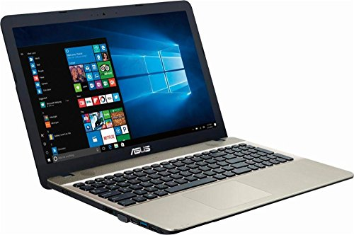 2017 ASUS VivoBook 15.6'' HD High Performance Premium Laptop PC, Intel Pentium Quad-Core N4200 Processor, 4 GB RAM, 500GB HDD, DVD/CD Burner, WIFI, HDMI, Webcam, Windows 10 by Asus