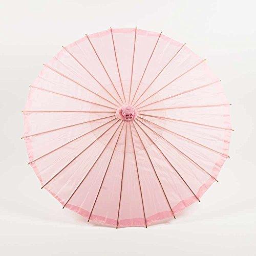 PaperLanternStore.com 32″ Pink Parasol Umbrella, Premium Nylon