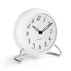 Arne Jacobsen Table Clock LK with Alarm