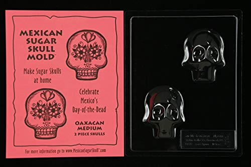 Sugar Skull Mold - Oaxacan Medium -