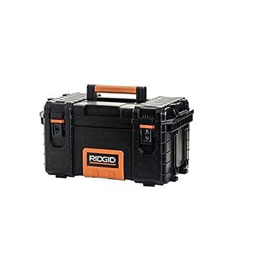 22 in. Pro Tool Box, Black