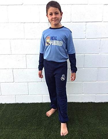 Pijama Real Madrid niños Invierno Tallas 6 a 16