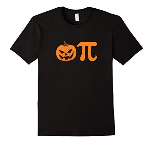Mens Pumpkin Pie - Pumpkin Pi - Halloween 2017 Shirt XL Black