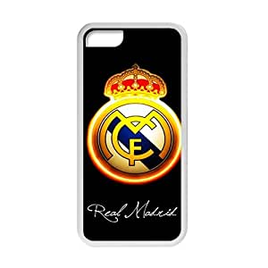 Real Madrid fashion plastic phone case for iPhone 5c
