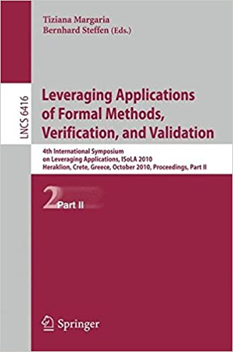 Leveraging Applications of Formal Methods, Verification, and