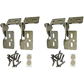 Youngdale Hy 65 Ab Low Profile 1 2 Quot Overlay Hinge Pair