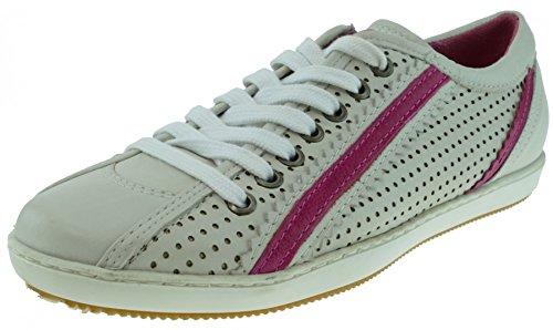 I am Walking Sneaker Leder weiss Weiß