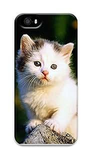 iPhone 5 5S Case Cat waiting 3D Custom iPhone 5 5S Case Cover