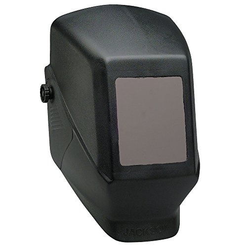 Jackson Safety Fixed Shade W10 HSL 100 Welding Helmet (14975), Black, (1 helmet per order)