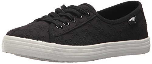 Rocket Dog Women's Chowchow Lucky Eyelet Cotton Sneaker, Black, 8 Medium (Rocket Dog Zappos)