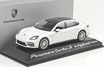 Herpa helper 1/43 Porsche Panamera Turbo S e-hybrid Executive white custom-
