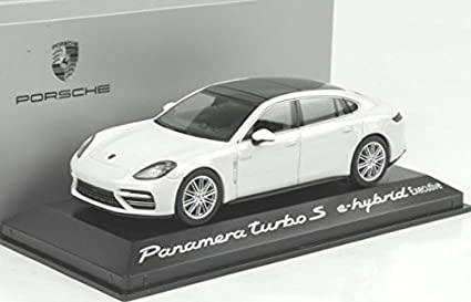 Herpa helper 1/43 Porsche Panamera Turbo S e-hybrid Executive white custom-