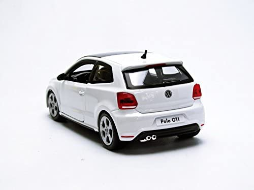 Bburago 2010 VW Polo 5 GTI 21059, Blanco, 1:24 Die Cast: Amazon.es ...