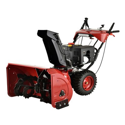 Amico AST-30 Deluxe 302cc Two-stage Electric Start Gas Snow Blower/Thrower, 30'' by Amico